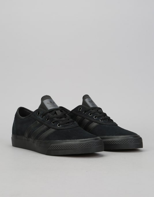 Adidas Adi-Ease Skate Shoes - Core Black/Core Black/Core Black