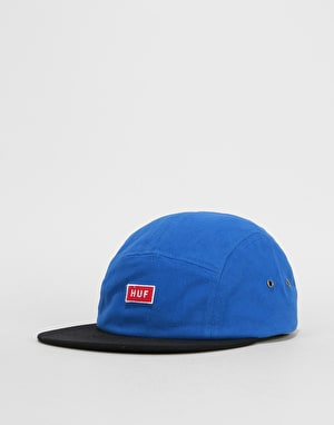 HUF Bar Logo Volley 5 Panel Cap - Slate
