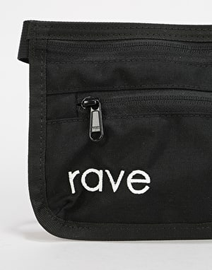 Rave Slim Cross Body Bag - Black/Purple