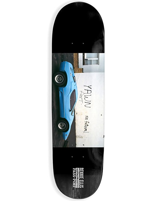 Pass Port x Rennie Ellis No Future Team Deck - 8.125""