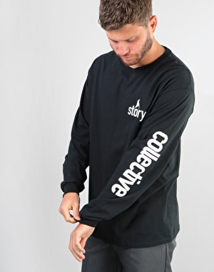 The Story Collective Sleeve L/S T-Shirt - Black