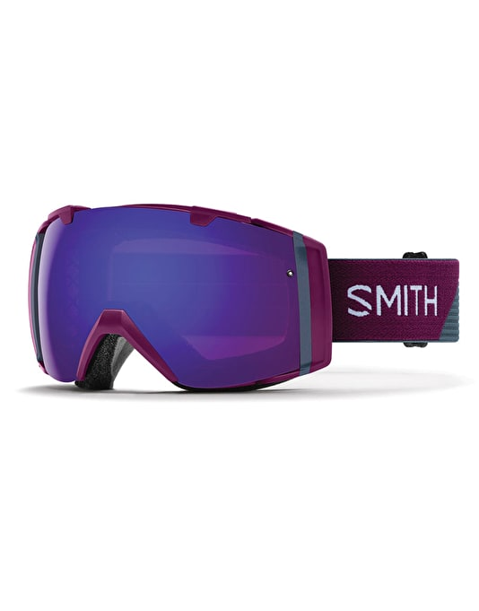 Smith I/O 2018 Snowboard Goggles - Grape Split/Everyday Violet Mirror