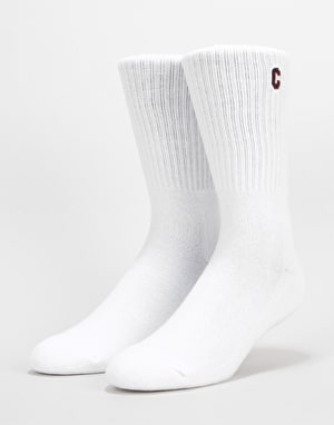 Carhartt Prior Socks - White