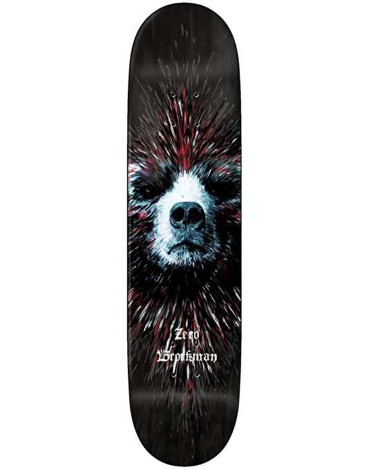 Zero Brockman Bear Impact Light Skateboard Deck - 8""