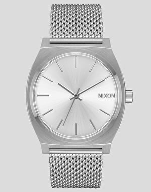 Nixon Time Teller Milanese Watch - All Silver