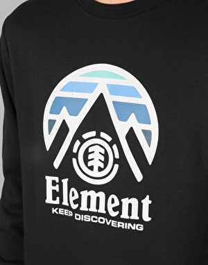 Element Tri Tip Crew - Flint Black