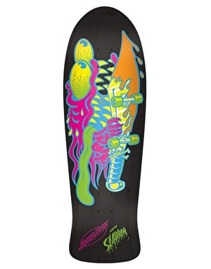 Santa Cruz Neon Slasher Reissue Team Deck - 10