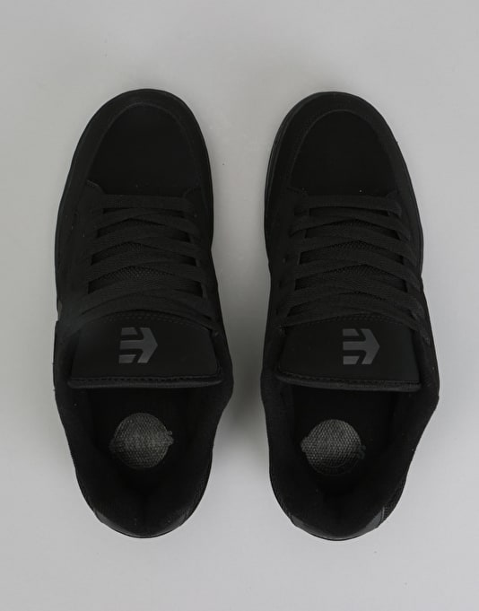 Etnies Swivel Skate Shoes - Black/Black/Gum