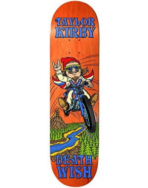 Deathwish Kirby Happy Place Skateboard Deck - 8.25