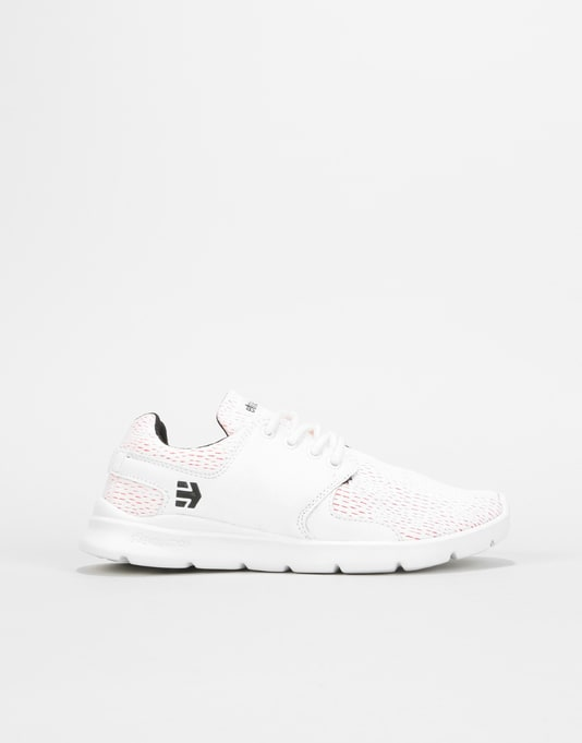Etnies Scout XT Womens Trainers - White/Red/Black