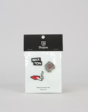 Brixton Devout Pin Pack - Multi