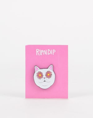 RIPNDIP Flower Eyes Pin - Multi