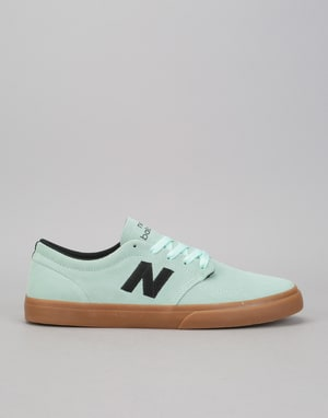 New Balance Numeric 345 Skate Shoes - Mint/Gum