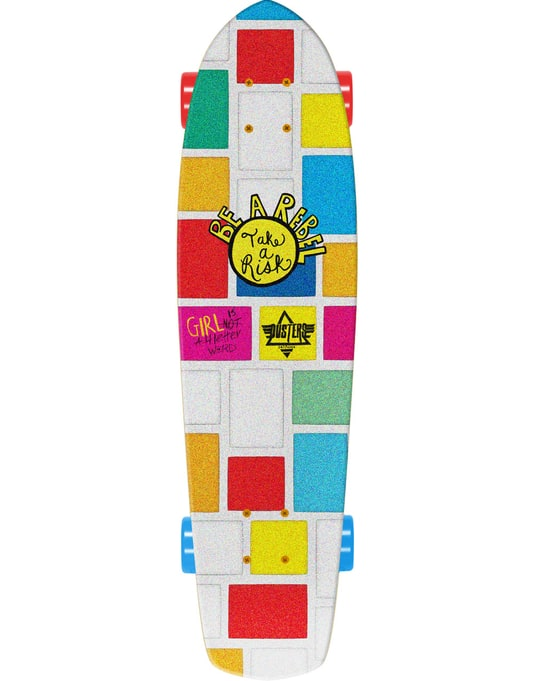 "Dusters x GN4LW Flower Power Cruiser - 8.25"" x 31"""