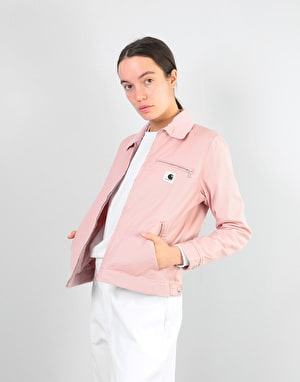 Carhartt Womens Detroit Jacket - Soft Rose (Rinsed)