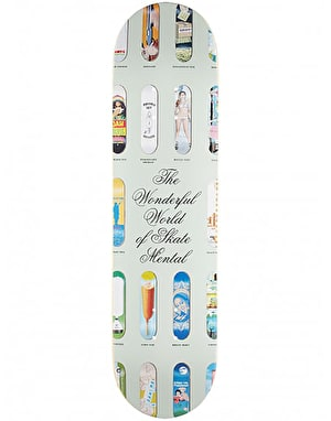 Skate Mental Wonderful World Skateboard Deck - 8