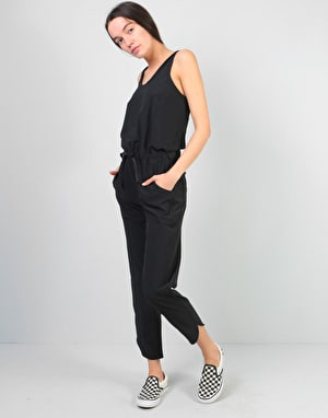 Patagonia Womens Fleetwith Romper - Black