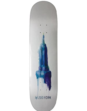 Zoo York Watercolor Empire Team Deck - 8.125