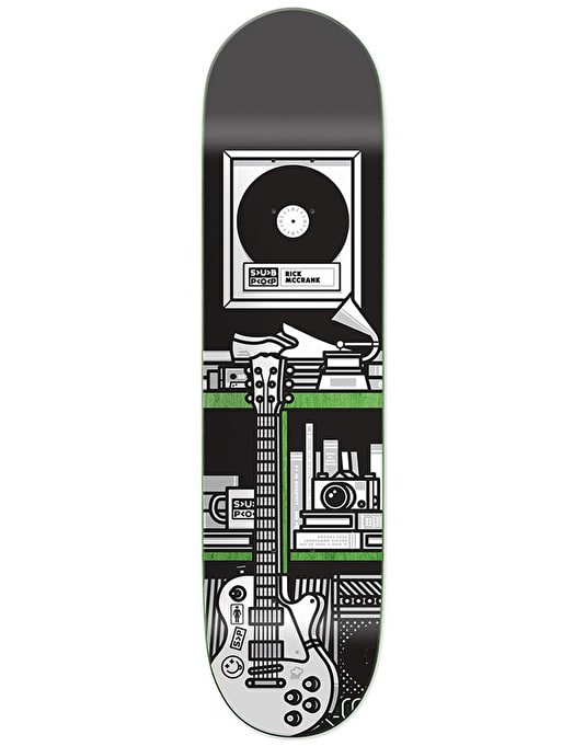 Girl x Sub Pop McCrank Skateboard Deck - 7.87""