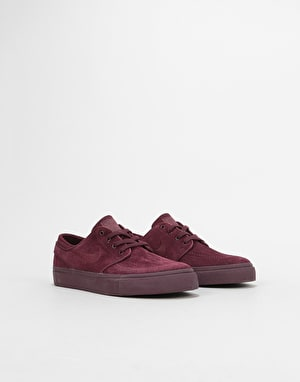 Nike SB Stefan Janoski Boys Skate Shoes - Burgundy Crush