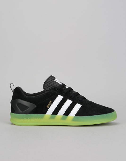newest 46b1c ad2d3 ... low cost adidas palace pro skate shoes chewy black white green c3399  b54de