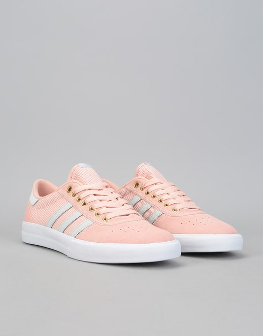 Adidas Lucas Premiere Skate Shoes - Vapour Pink/Grey One/White