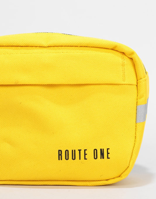 Route One Classic Cross Body Bag - Vibrant Yellow