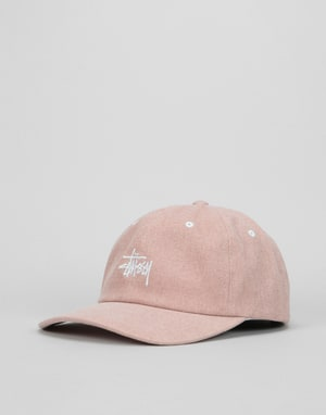 Stüssy Washed Stock Low Pro Cap - Dusty Pink