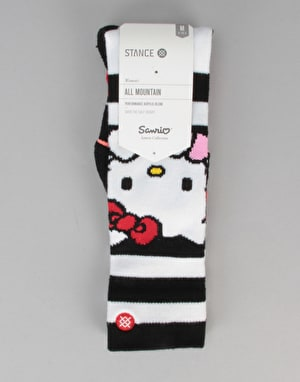 Stance Hello All Mountain Snowboard Socks - White