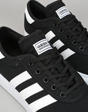 Adidas Adi-Ease Premiere Skate Shoes - Black/White/Gum