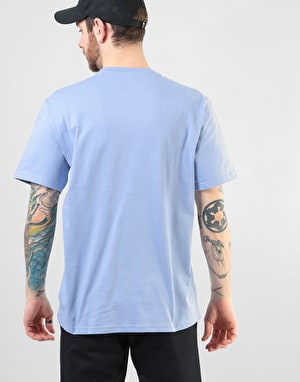 Element Blazin Chest Pastel T-Shirt - Blue Fade