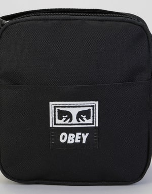 Obey Drop Out Traveler Cross Body Bag - Black