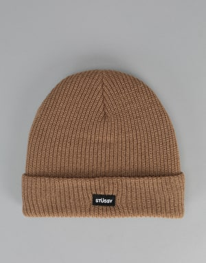 Stüssy Watch Cuff Beanie - Tan