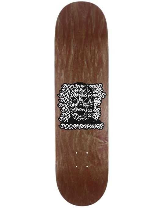 Doom Sayers Ghost Face Skateboard Deck - 8.28""