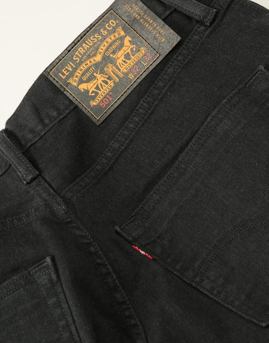 Levi's Skateboarding 501® Original Fit Denim Jeans - Dark Rinse