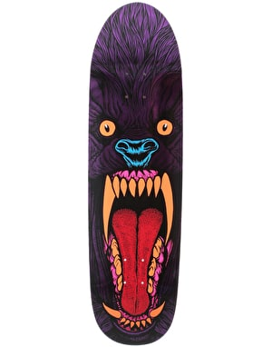 Deathwish Slash Purple Wolf Pro Deck - 8.75