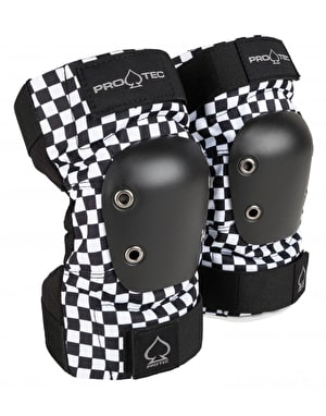 Pro-Tec Street Junior Elbow Pads - Black/White Checker