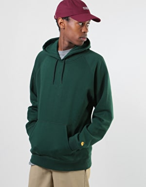 Carhartt Hooded Chase Sweatshirt - Tasmania/Gold