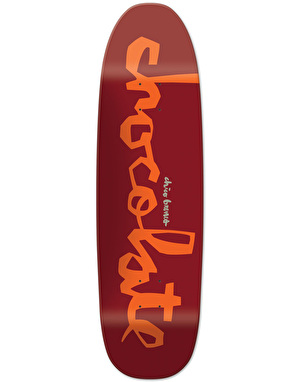 Chocolate Brenes 'Big Boy' Original Chunk Pro Deck - 9