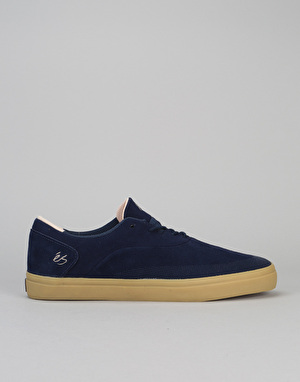 éS Arc Skate Shoes - Navy/Tan