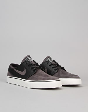 Nike SB Zoom Stefan Janoski OG Skate Shoes - Midnight Fog/Black