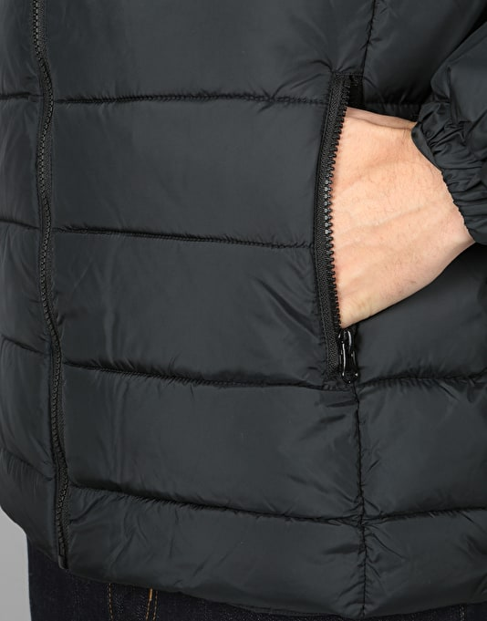 Hype Puffa Jacket - Black