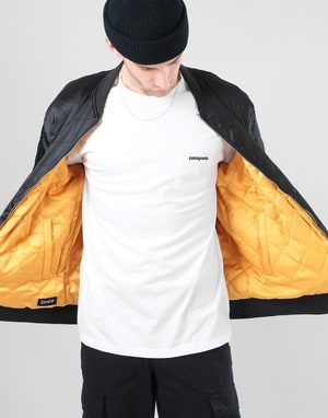 RIPNDIP Praying For Nermal Reversible Coach Jacket - Black/Yellow