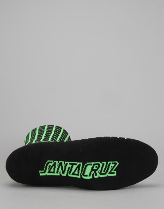 Santa Cruz Atomic Socks - Black
