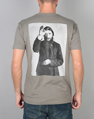 Theories Rasputin T-Shirt - Warm Grey