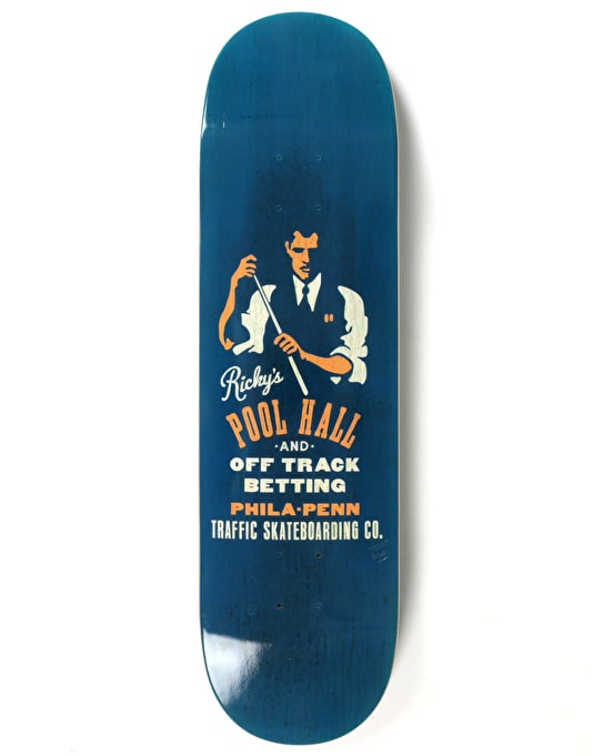 Traffic Oyola Match Skateboard Deck - 8.5""