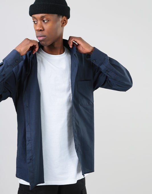 Route One Oxford Shirt - Navy