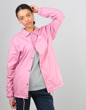Nike SB Womens Shield Oversized Coaches Jacket - Elemental Pink/White