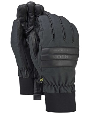 Burton Dam 2018 Snowboard Gloves - True Black Waxed