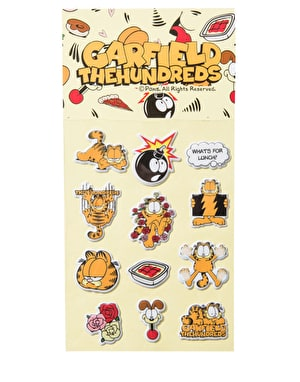 The Hundreds x Garfield Sticker Pack - Multi